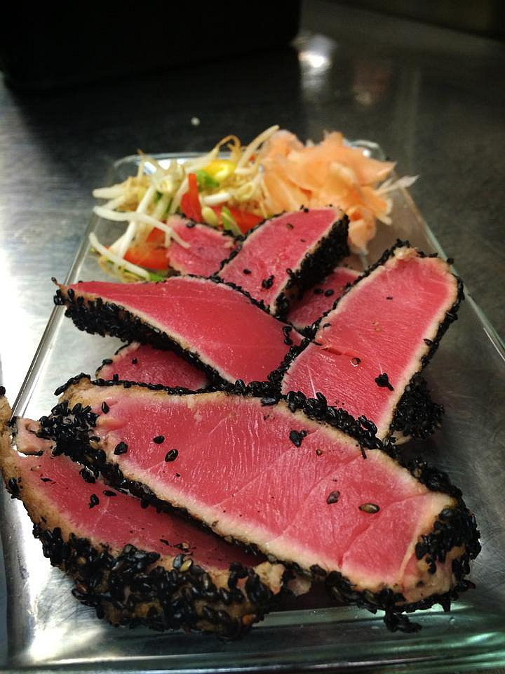 Ahi Tuna with Wasabi Soy